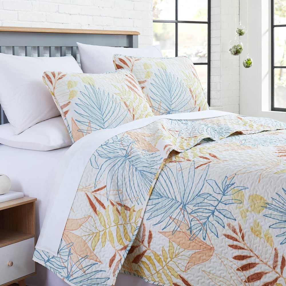 Tropic Leaf Quilt Set