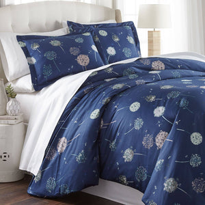 Dandelion Dreams Reversible Cotton Duvet Set