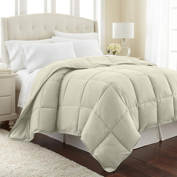 All-Season Classic Plush Down Alternative Comforters by Vilano Springs in Off White