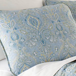 Paisley Grace Soft & Supreme Quality Reversible Lightweight Quilt Set
