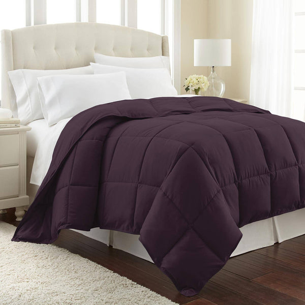 All-Season Classic Plush Down Alternative Comforters by Vilano Springs in Purple