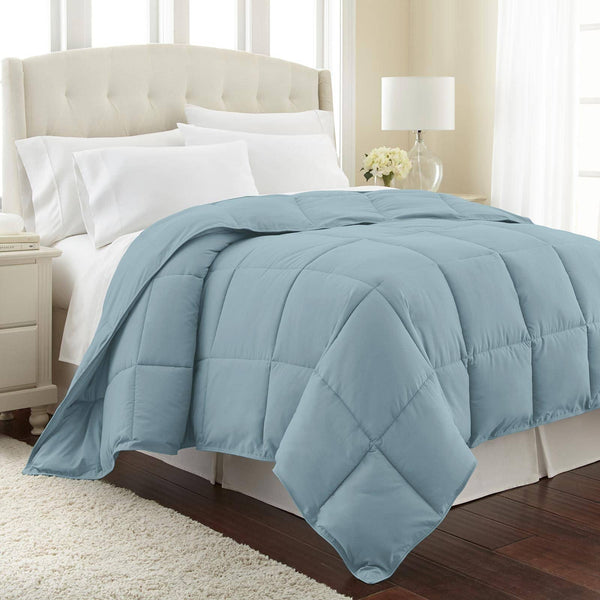All-Season Classic Plush Down Alternative Comforters by Vilano Springs in Sky Blue