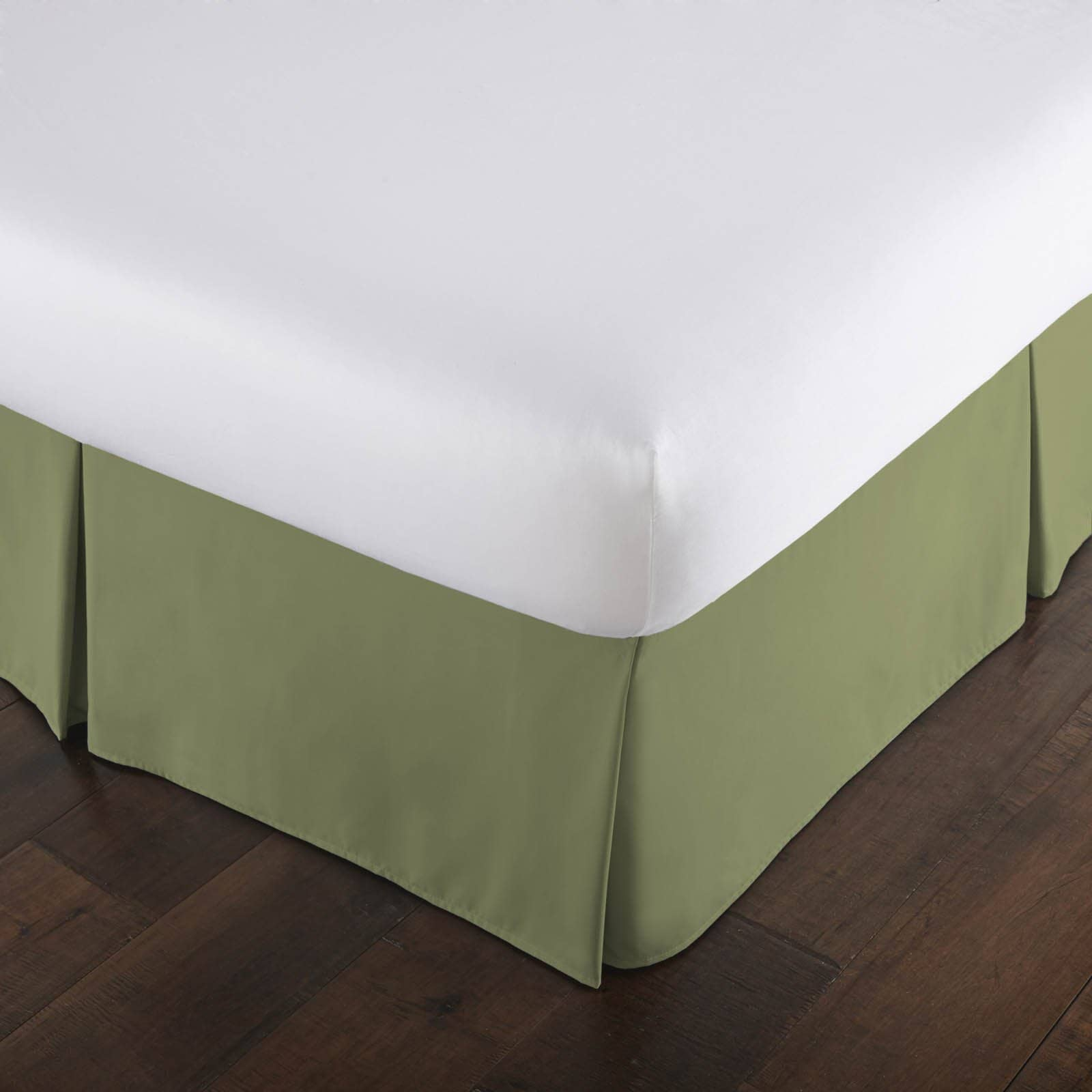 100 /% Linen BED SKIRT flat Queen King Twin Full Any Drop Length available