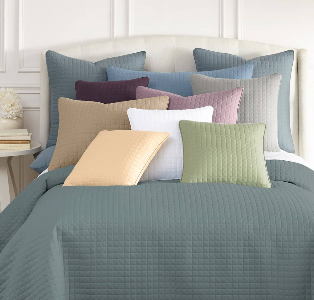 Vilano Quilted Shams in Multiple Colors