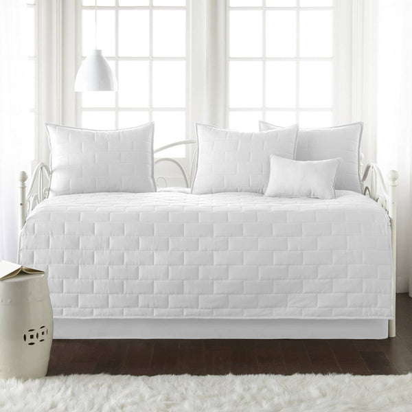 Comfortable and Cozy White Brickyard Daybed and Sham Set by Southshore Fine Linens Main Image