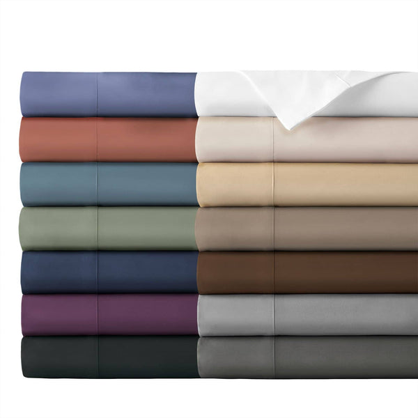 Extra-Soft Neutral and Solid Color Brushed Microfiber Deep Pocket 6-Piece Sheet Set All Colors