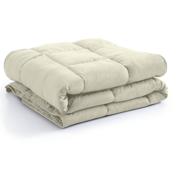All-Season Classic Plush Down Alternative Comforters by Vilano SpringsAll-Season Classic Plush Down Alternative Comforters by Vilano Springs in Off White