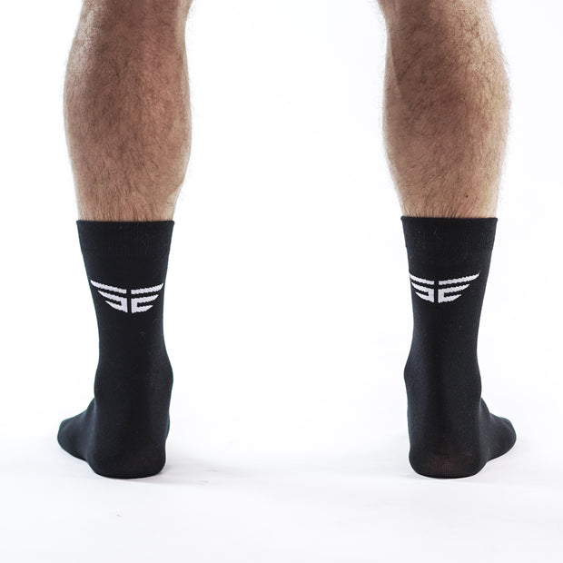 Elite Performance Socks - Black (2 Pairs)