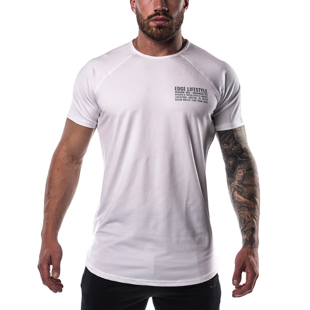 Enhanced Tee - White