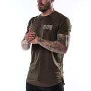 Enhanced Tee - Military Green