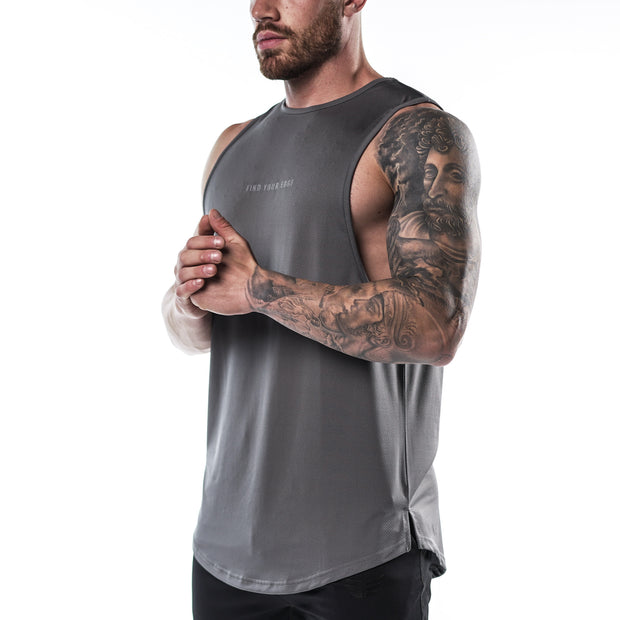 Enhanced Tank - Steel Grey