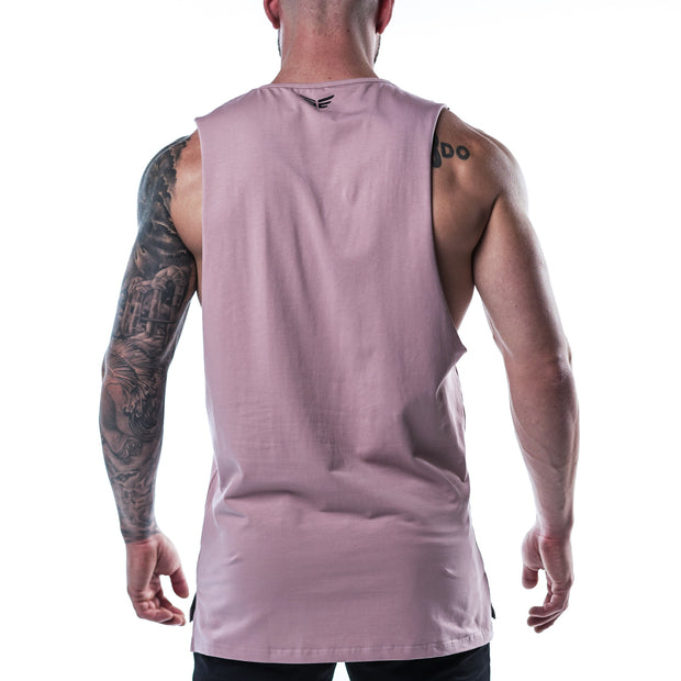 Cut Off Tank - Bro Purple