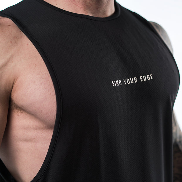 Enhanced Tank - Black/White