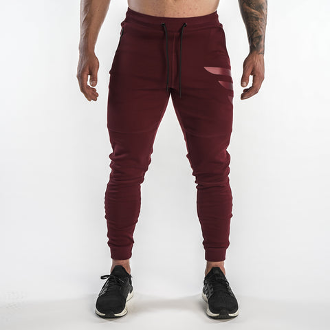 Elevated Joggers - Maroon