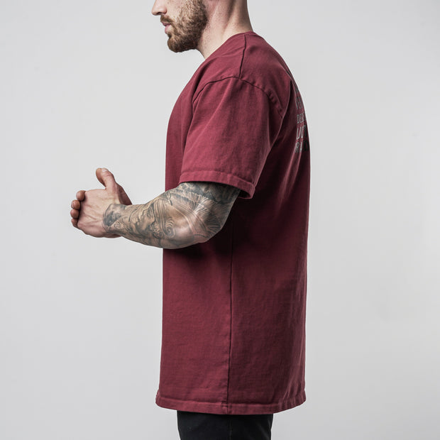 Hometown Tee - Maroon