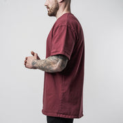 Hometown Basic Tee - Maroon