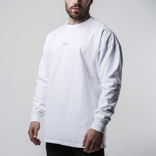 Hometown Basic Longsleeve - White
