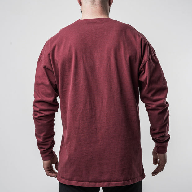 Hometown Basic Longsleeve - Maroon