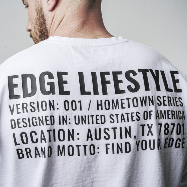 Hometown Longsleeve - White