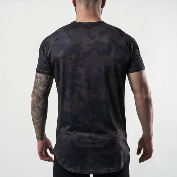 Enhanced Tee - Dark Camo