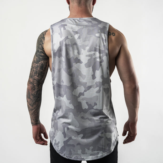 Enhanced Tank - White Camo