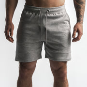 Elevated Jogger Shorts - Heather Grey