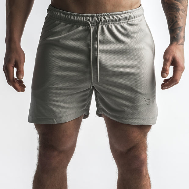 Lift Shorts - Light Grey