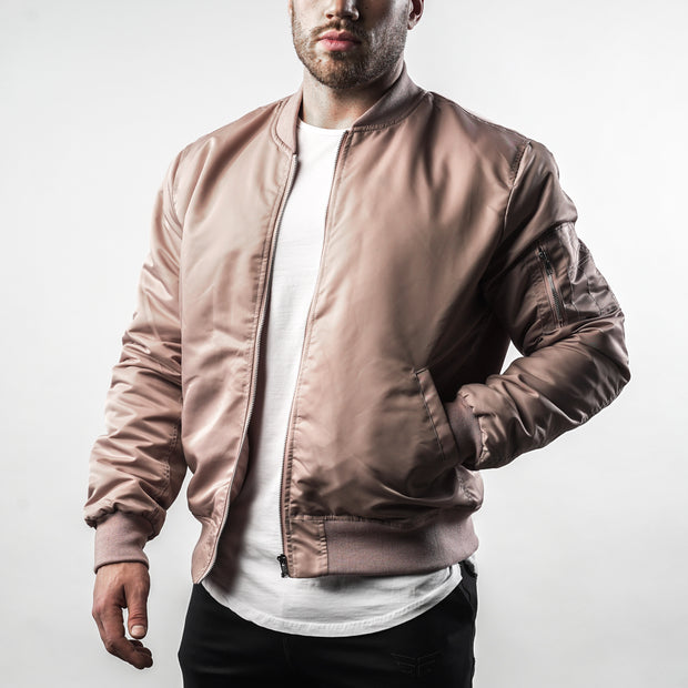 Bomber Jacket - Dusty Pink