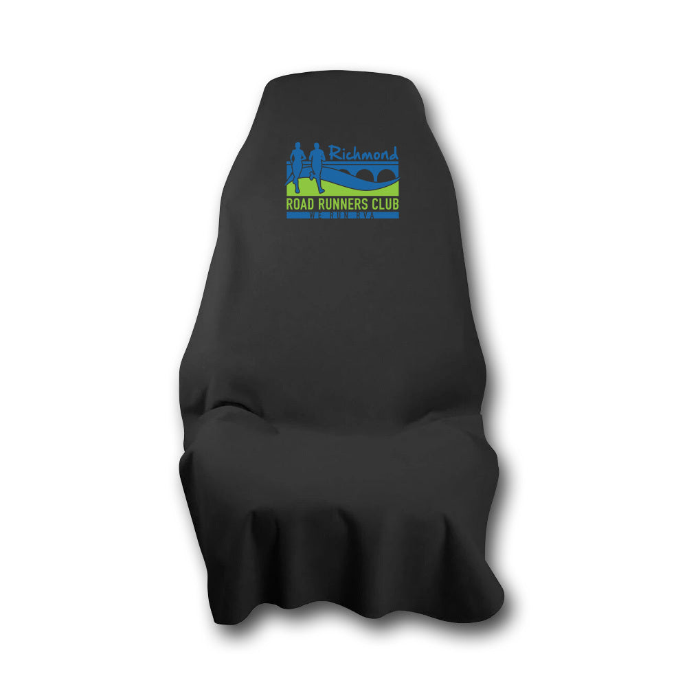 RRRC Car Seat Cover - Black with RRRC Logo