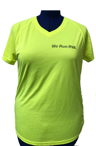RRRC Marquis Tee - Women - Electric Yellow
