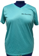 Load image into Gallery viewer, RRRC Eclipse Tee - Women - Teal