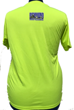 Load image into Gallery viewer, RRRC Marquis Tee - Men - Electric Yellow