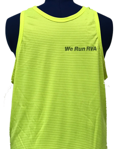 RRRC Eclipse Tank - Men - Electric Yellow