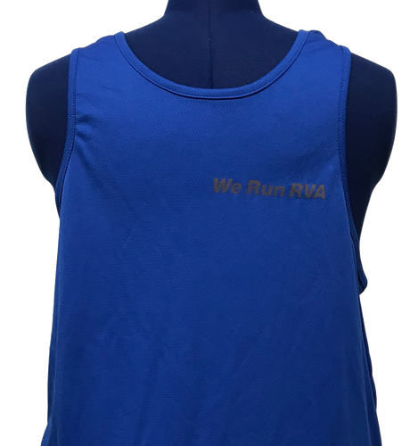 RRRC Micromesh Tank - Men - Royal Blue
