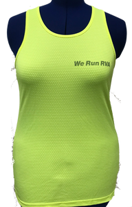 RRRC Eclipse Tank - Women - Electric Yellow