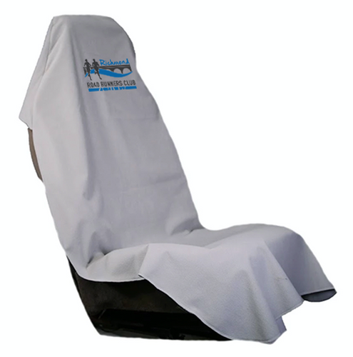 RRRC Car Seat Cover - Gray with New RRRC Logo  (only 3 left)