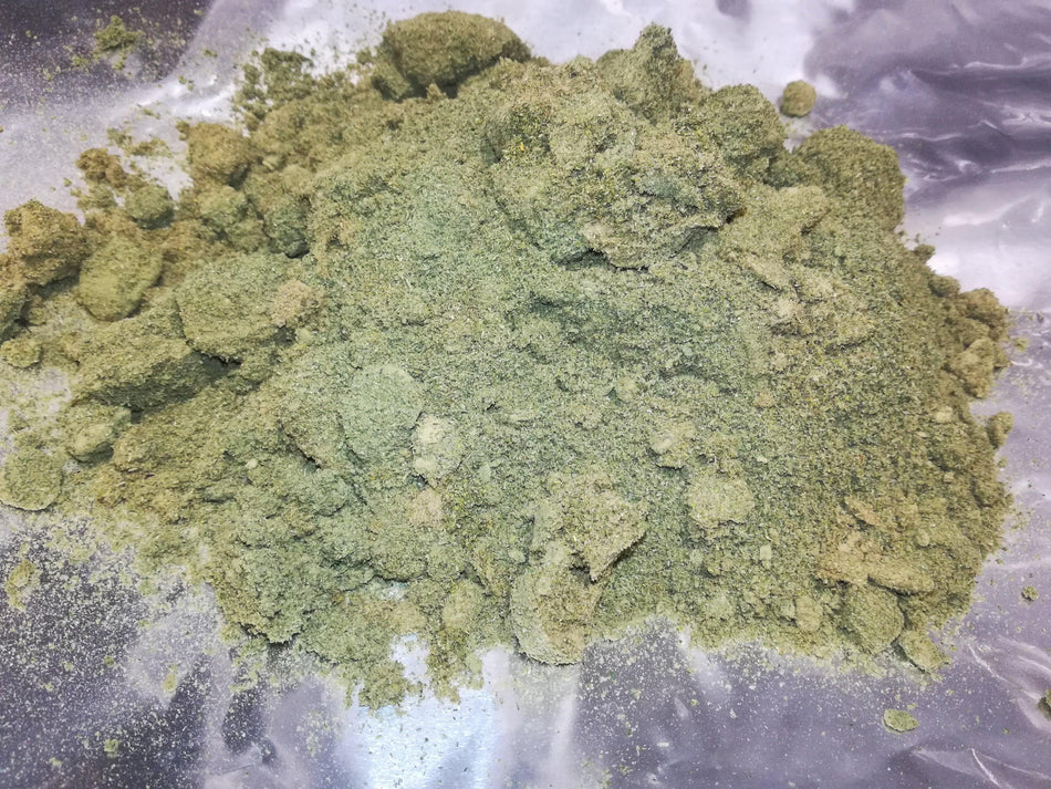 Raw Hemp Concentrate Powder - Unscreened Kief