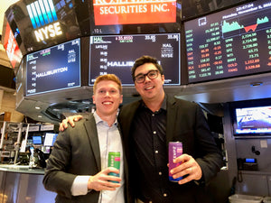 Tempo Visits the New York Stock Exchange for Live Video Interview with Cheddar