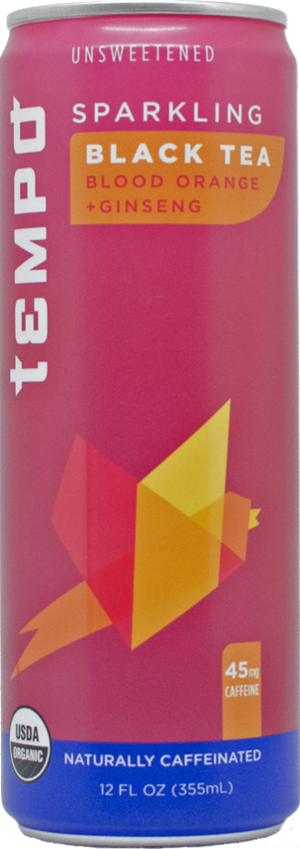 Sparkling Black Tea<br>12-pack