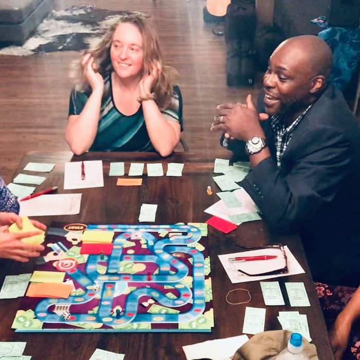 INVENTOR CREATES NEW BOARD GAME THAT TEACHES CHILDREN (AND ADULTS) HOW TO START A BUSINESS