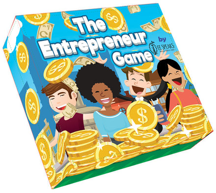 The Entrepreneur Board Game by EESpeaks...It's Time!