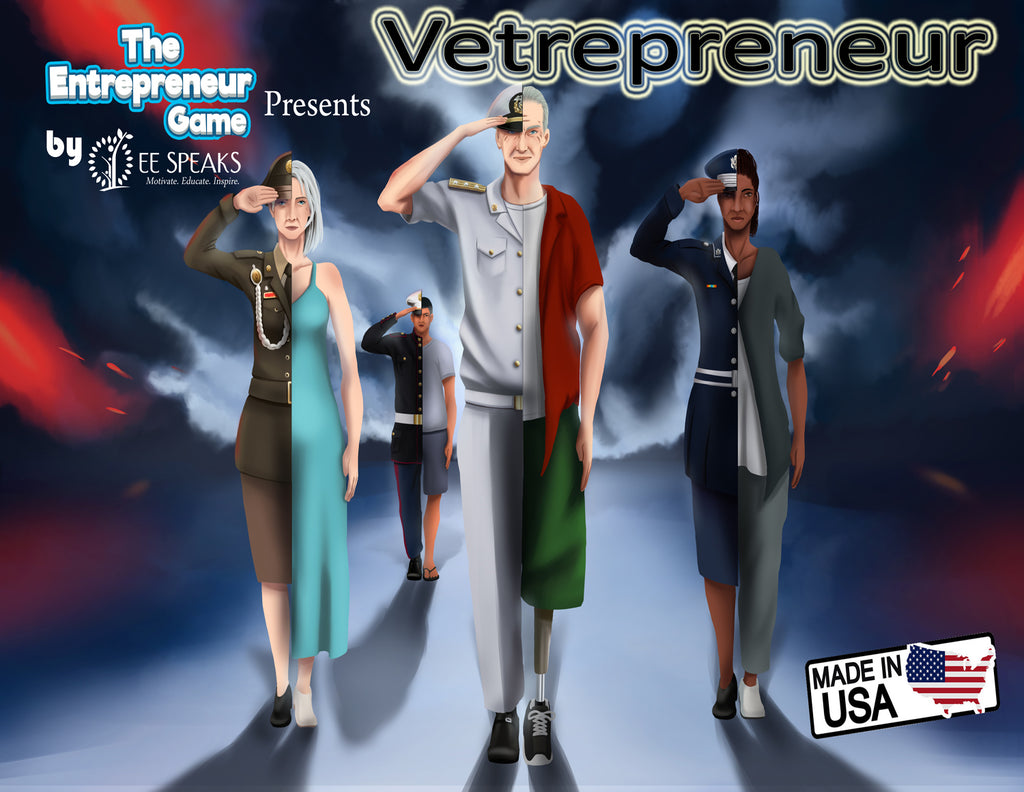 VETREPRENEUR: The Entrepreneur Game for Active and Non-Active Military Personnel