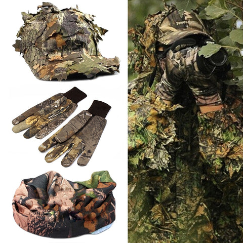 Ensemble camouflage 4pcs