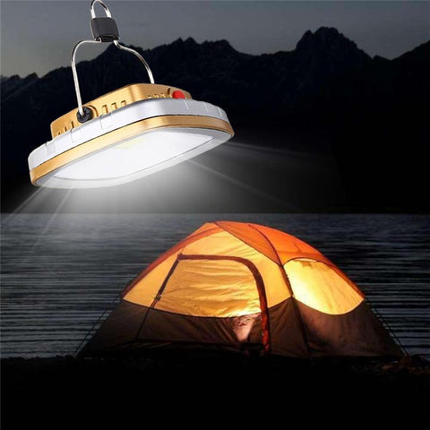Lampe 300Lm rechargement solaire