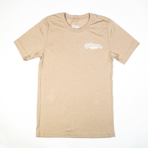 "Men Tan ""BillionaireMind"" Tee"