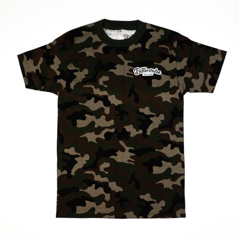 "Men Camo ""BillionaireMind"" Tee"