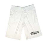 "White""BillionaireMind"" Shorts"