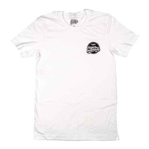 "Men White ""Highclass"" Tee"