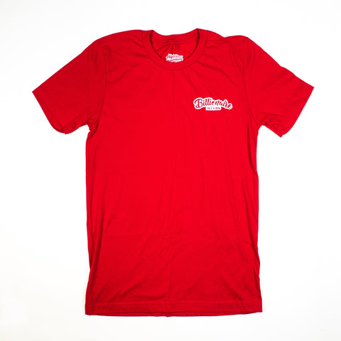 "Men Red ""BillionaireMind"" Tee"