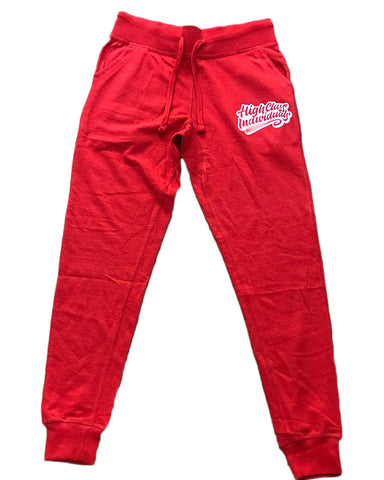 Red HCI Joggers